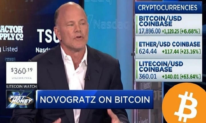 """Billionaire says not investing in Bitcoin is """"irresponsible"""""""