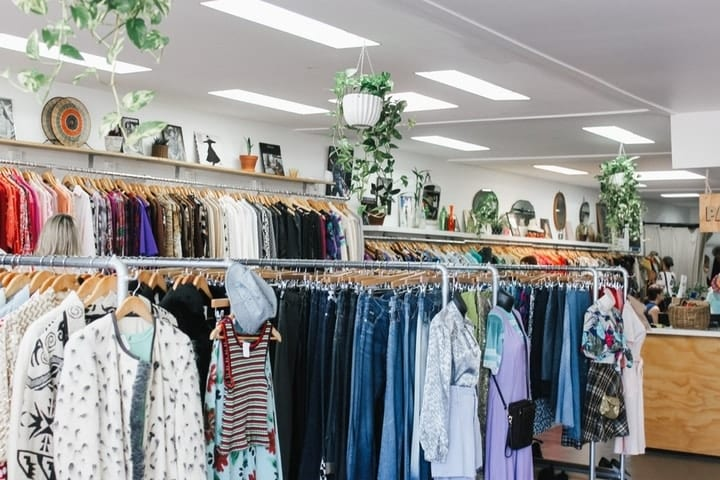 discounts at thrift shop, spring cleaning