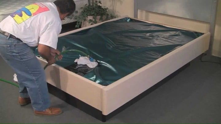 waterbed instructions