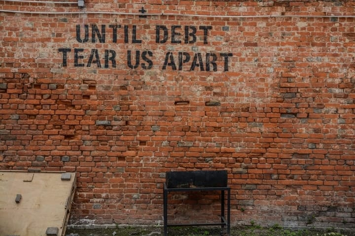 how to build credit, get rid of debt