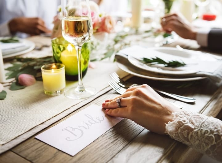 wedding catering on a budget