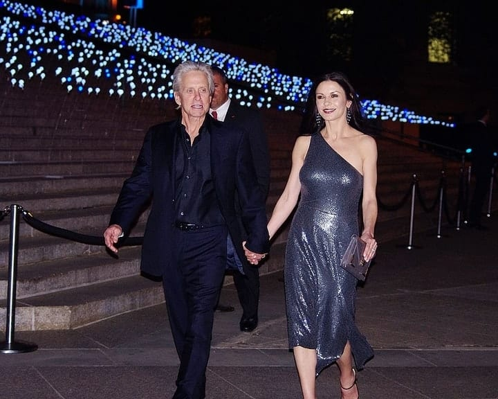 Catherine Zeta-Jones Michael Douglas wedding