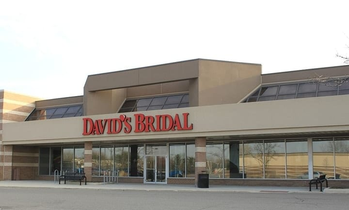 david's bridal bankrupt
