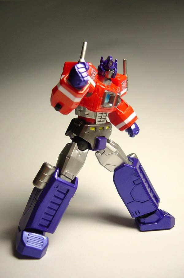 optimus prime toy