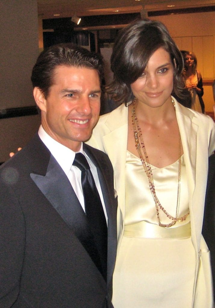 tom cruise katie holmes wedding