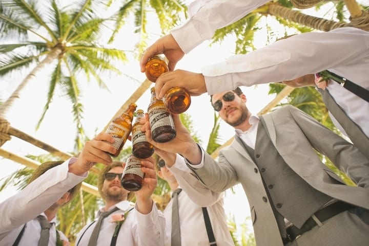 cheap open bar wedding