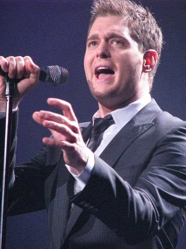 michael buble tour 2018