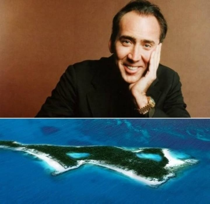 Nick Cage, private islands