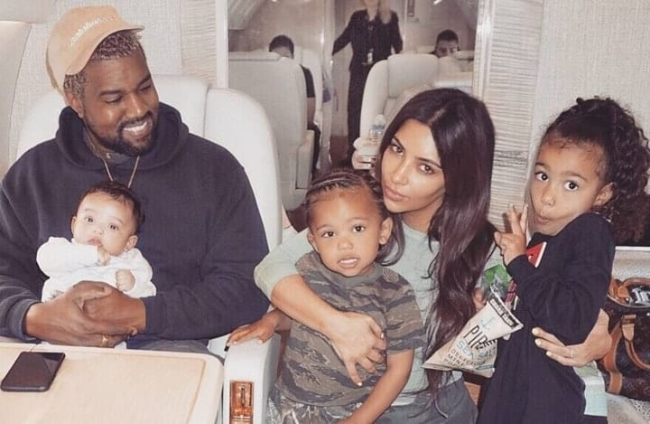 North, Chicago and Saint West
