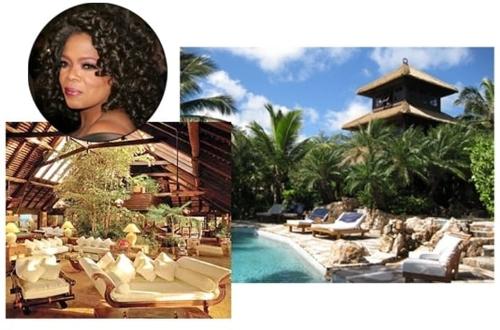 Oprah, private islands