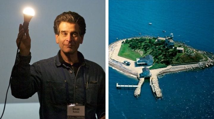 Dean Kamen, private islands