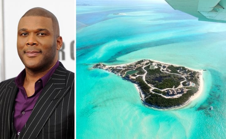 Tyler Perry, private islands