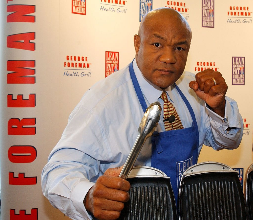 Career, George Foreman, celebrities with normal jobs