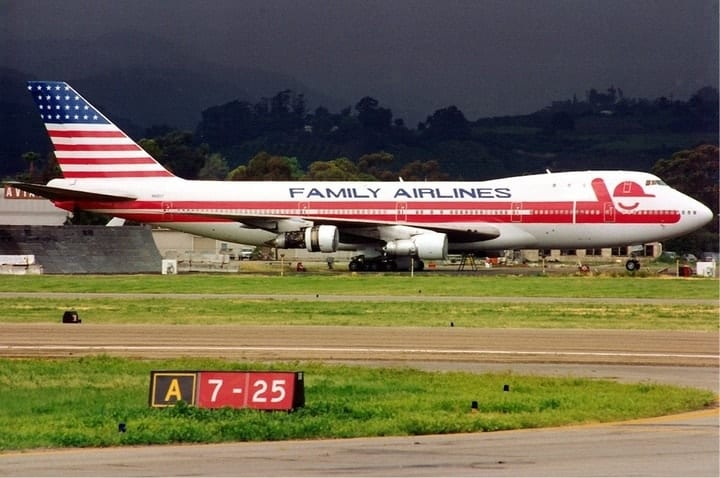 Family Airlines, defunct airlines