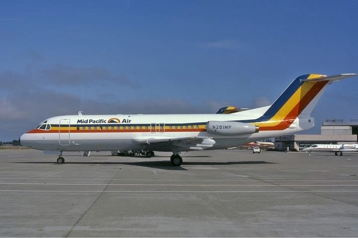 Mid Pacific Air, defunct airlines