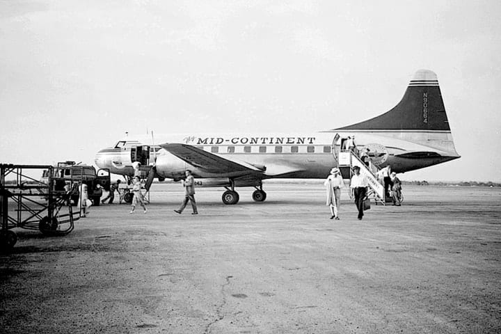 Mid-Continent Airlines, defunct airlines