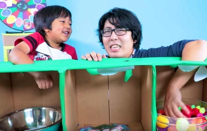 Ryan ToysReview networth