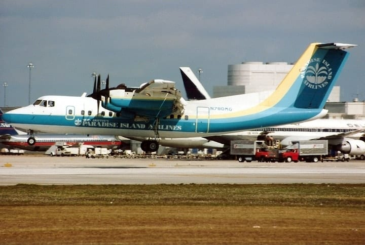 Paradise Island Airlines, defunct airlines
