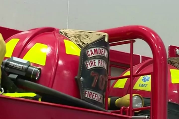 fire engine fire truck firefighters powerball lottery
