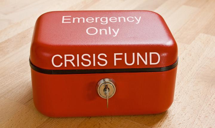 Embrace saving your cents for an emergency fund; you never know when you'll need it