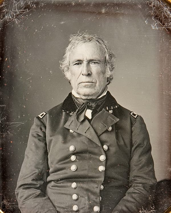 Zachary Taylor, richest US presidents