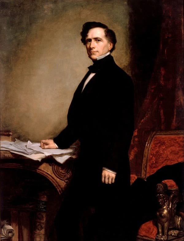 Franklin Pierce, richest US presidents