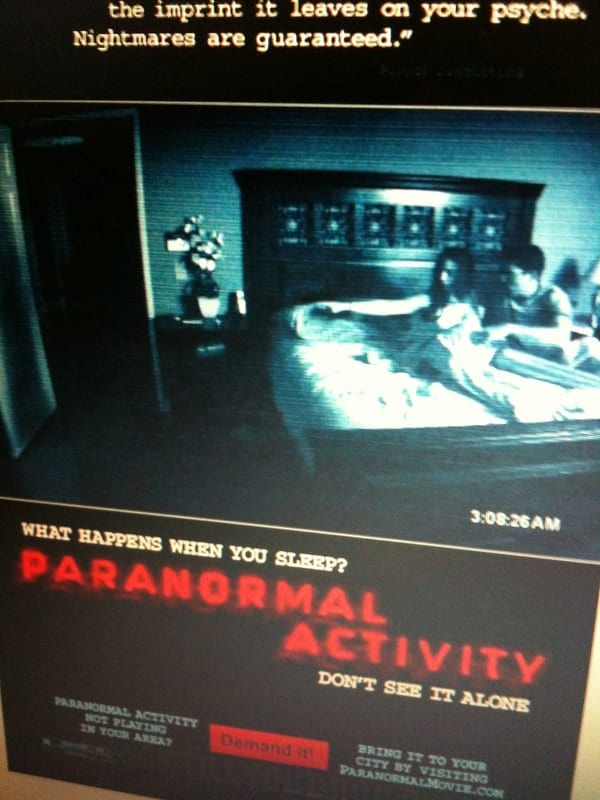Paranormal Activity, low budget movies