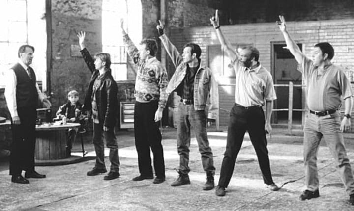 The Full Monty, low budget movies