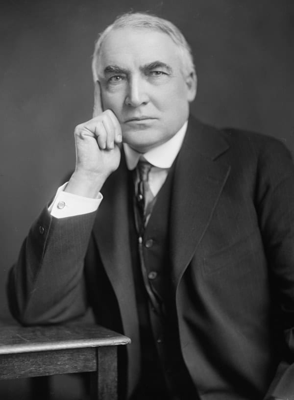 Warren Gamaliel Harding, richest US presidents
