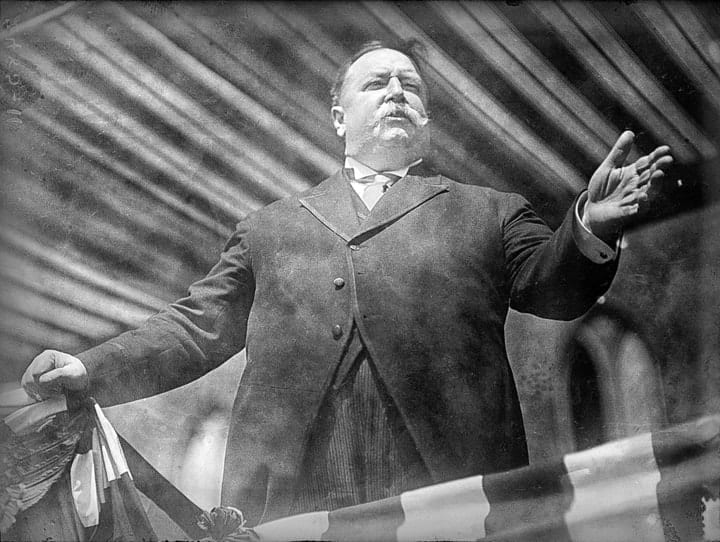 William Howard Taft, richest US presidents