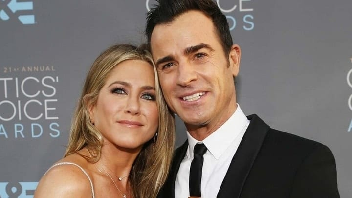 jennifer aniston, Justin Theroux, wage gap