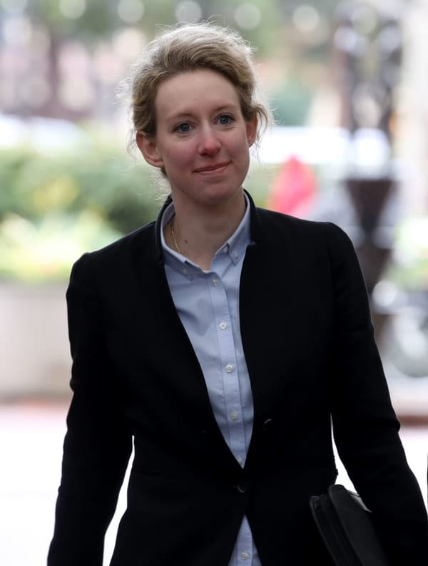 elizabeth holmes, theranos, bad company founders