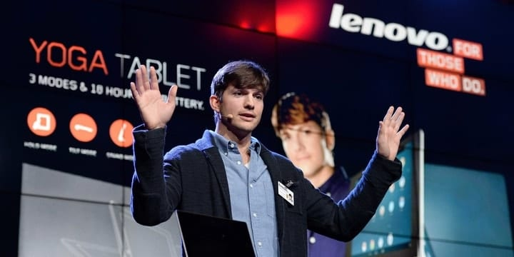 celebrity endorsements, Ashton Kutcher