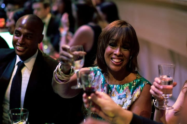 Gayle King, most extravagant celebrity parties
