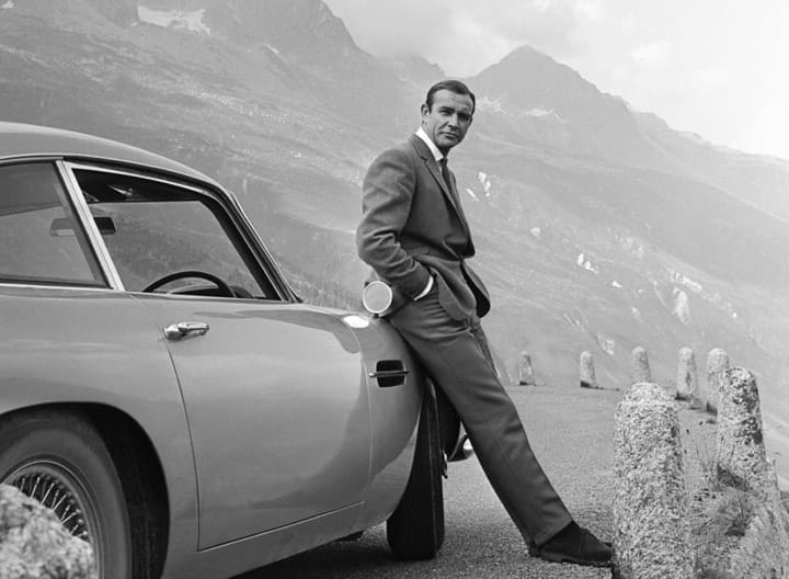 James Bond, Aston Martin, obnoxious product placement