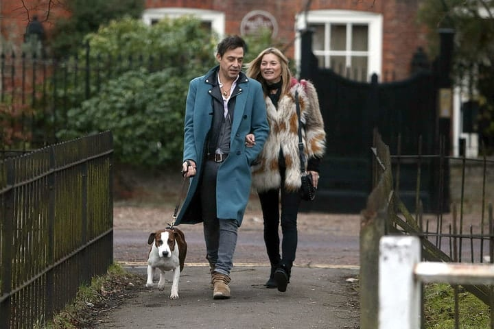 Kate Moss, Jamie Hince, wage gap