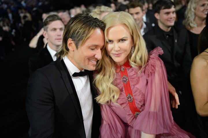 Nicole Kidman, Keith Urban, wage gap