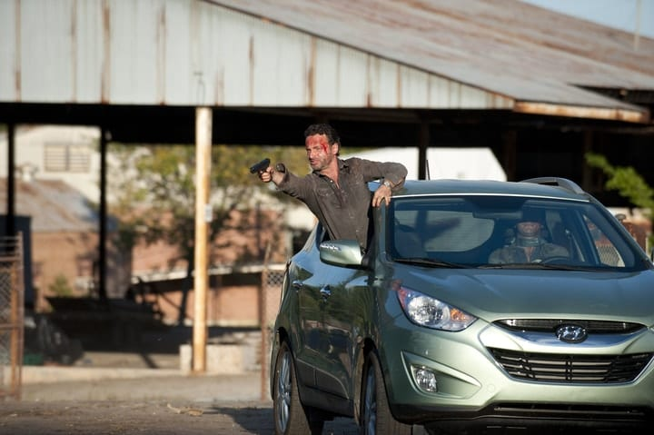 product placements, The Walking Dead, Hyundai