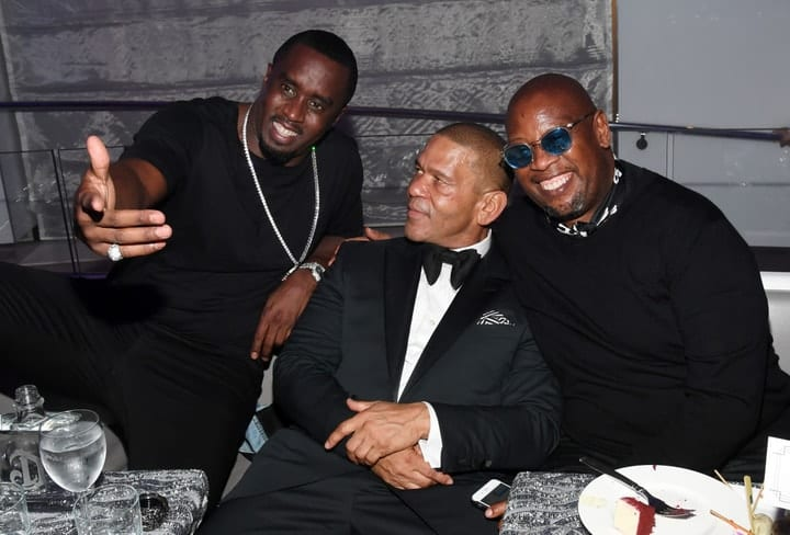 sean combs, most extravagant celebrity parties