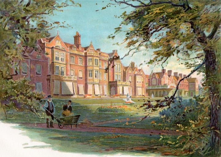 Sandringham Palace, royal family homes