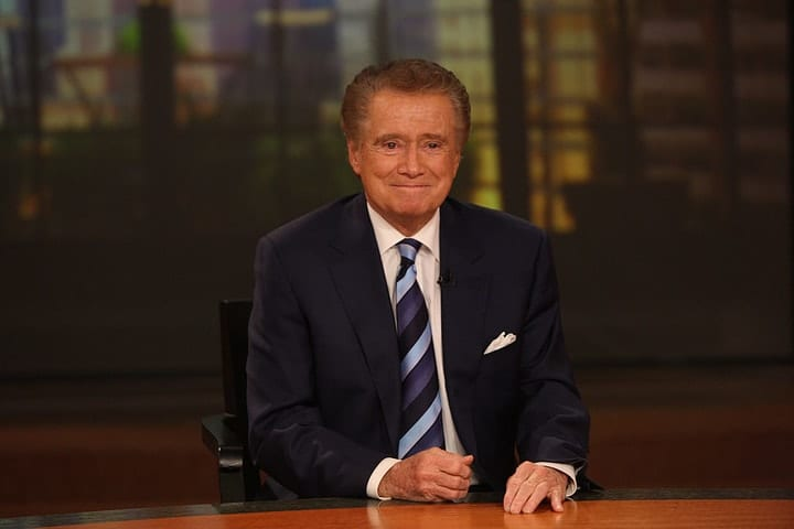 success after 40, Regis Philbin
