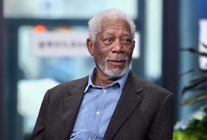 success after 40, Morgan Freeman