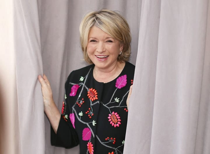 success after 40, Martha Stewart