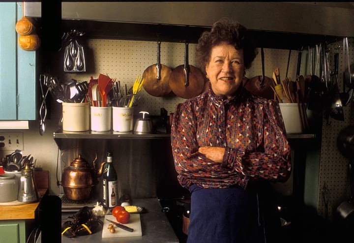 success after 40, Julia Child