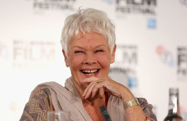 success after 40, Judi Dench