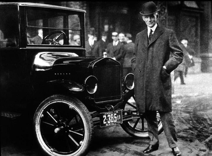 success after 40, Henry Ford