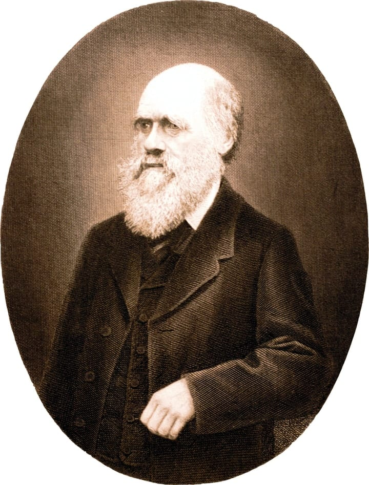 success after 40, Charles Darwin