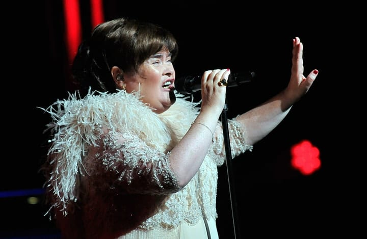 success after 40, Susan Boyle