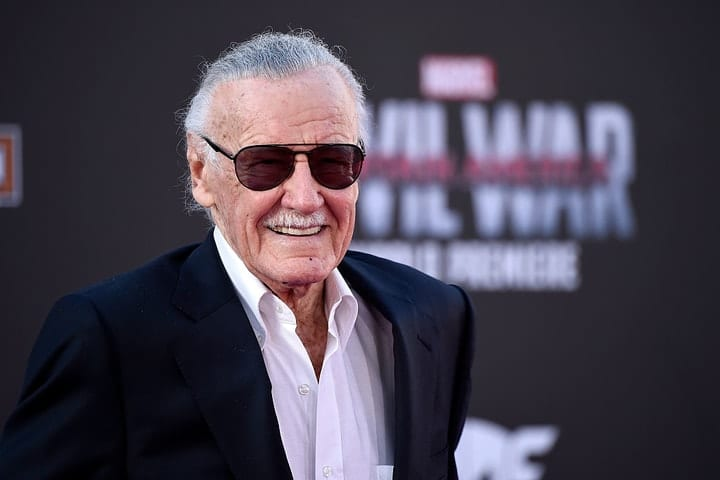 success after 40, Stan Lee