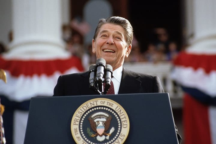 success after 40, Ronald Reagan